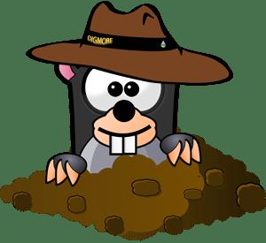Digmore mascot